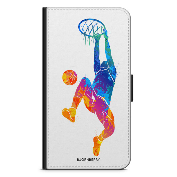 Bjornberry Plånboksfodral iPhone 8 Plus - Basket