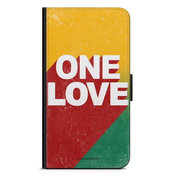 Bjornberry Plånboksfodral iPhone 8 Plus - ONE LOVE