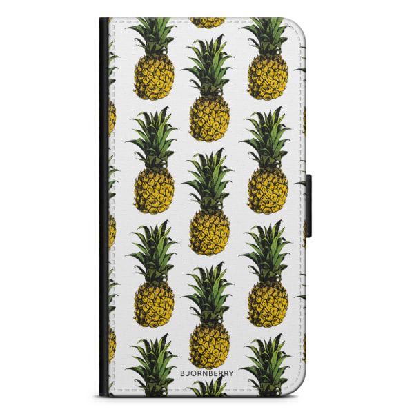 Bjornberry Plånboksfodral iPhone X / XS - Ananas