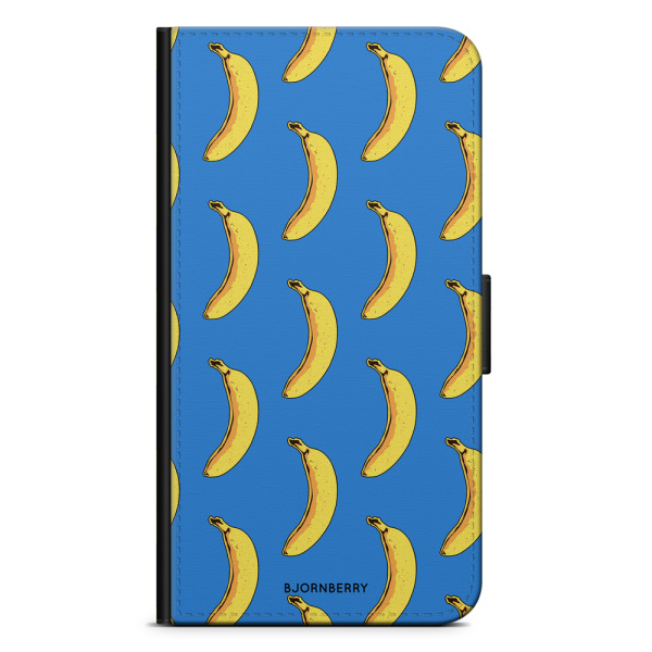Bjornberry Plånboksfodral iPhone X / XS - Bananer