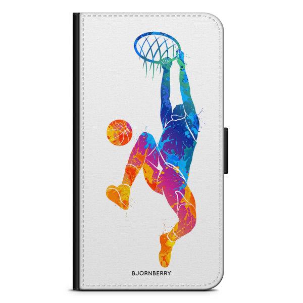 Bjornberry Plånboksfodral iPhone X / XS - Basket