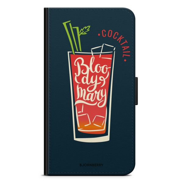 Bjornberry Plånboksfodral iPhone X / XS - Bloody Mary