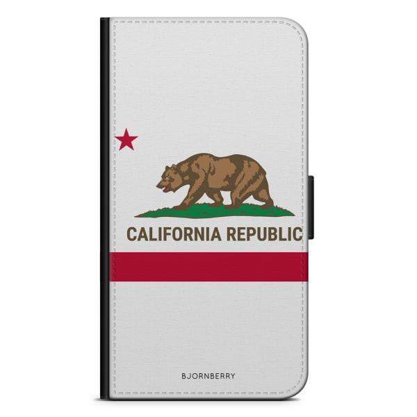 Bjornberry Plånboksfodral iPhone X / XS - California Björn