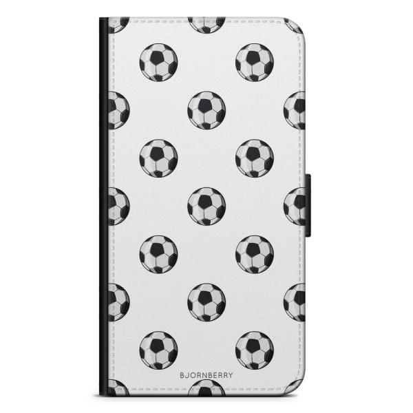 Bjornberry Plånboksfodral iPhone X / XS - Fotbollar