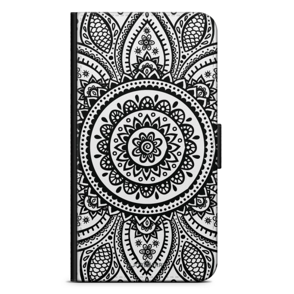 Bjornberry Plånboksfodral iPhone X / XS - Henna Mandala
