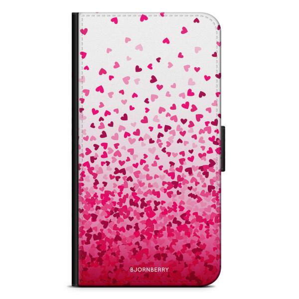 Bjornberry Plånboksfodral iPhone X / XS - Hjärtkonfetti