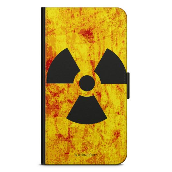 Bjornberry Plånboksfodral iPhone X / XS - Radioaktiv Skylt
