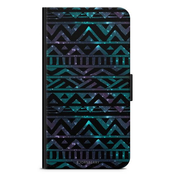 Bjornberry Plånboksfodral iPhone X / XS - Rymd Aztec