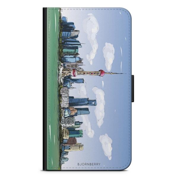 Bjornberry Plånboksfodral iPhone X / XS - Shanghai