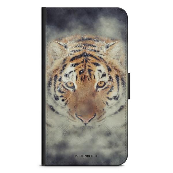 Bjornberry Plånboksfodral iPhone X / XS - Tiger Rök