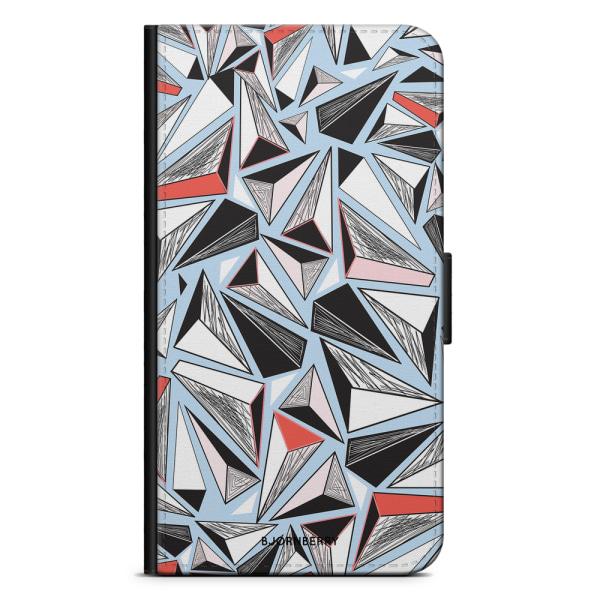 Bjornberry Plånboksfodral iPhone X / XS - Triangelmönster
