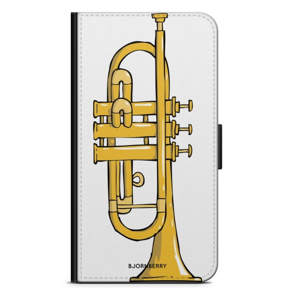 Bjornberry Plånboksfodral iPhone X / XS - Trumpet