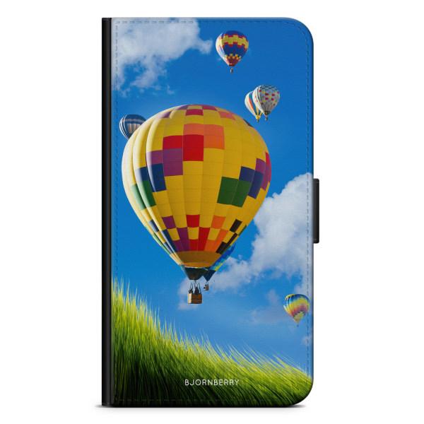 Bjornberry Plånboksfodral iPhone X / XS - Varm Luftsballong