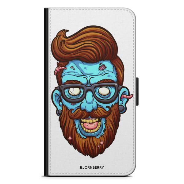 Bjornberry Plånboksfodral iPhone X / XS - Zombie Hipster