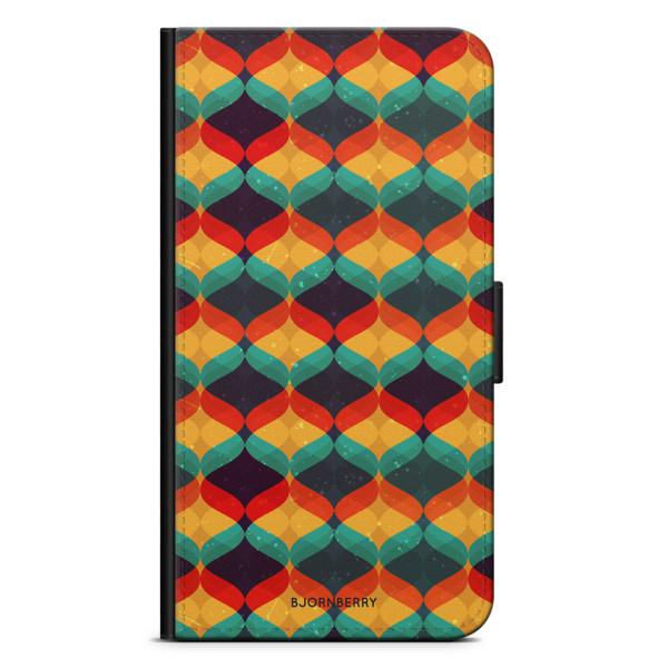Bjornberry Plånboksfodral iPhone XR - Abstrakt Mönster