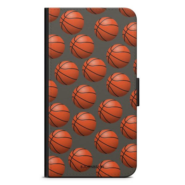 Bjornberry Plånboksfodral iPhone XR - Basketbolls Mönster