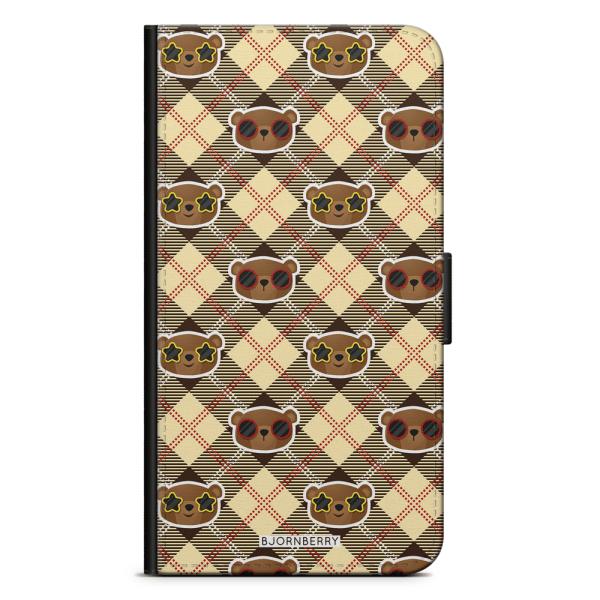 Bjornberry Plånboksfodral iPhone XR - Cool Björn