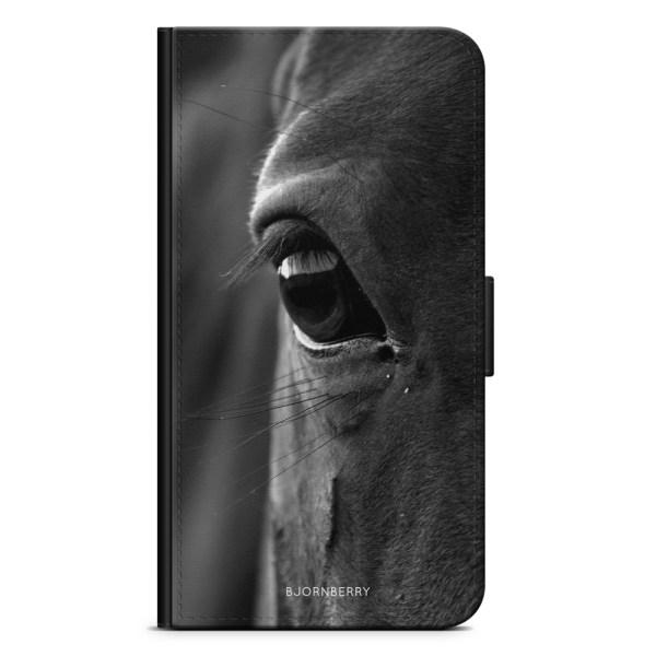 Bjornberry Plånboksfodral iPhone XR - Hästöga
