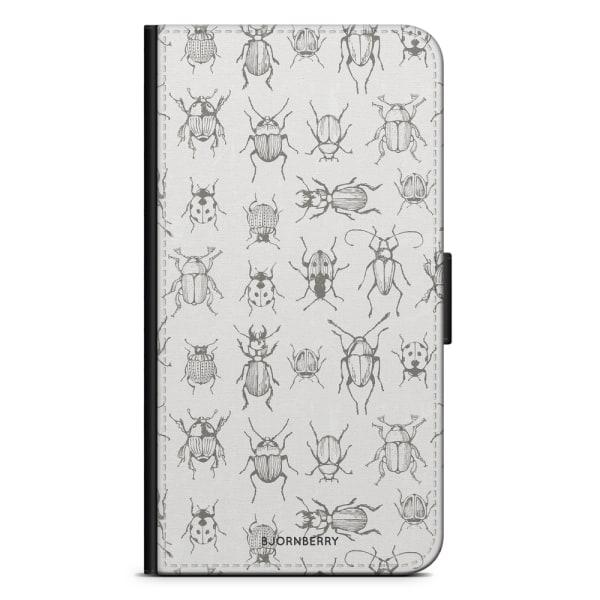 Bjornberry Plånboksfodral iPhone XR - Insekter