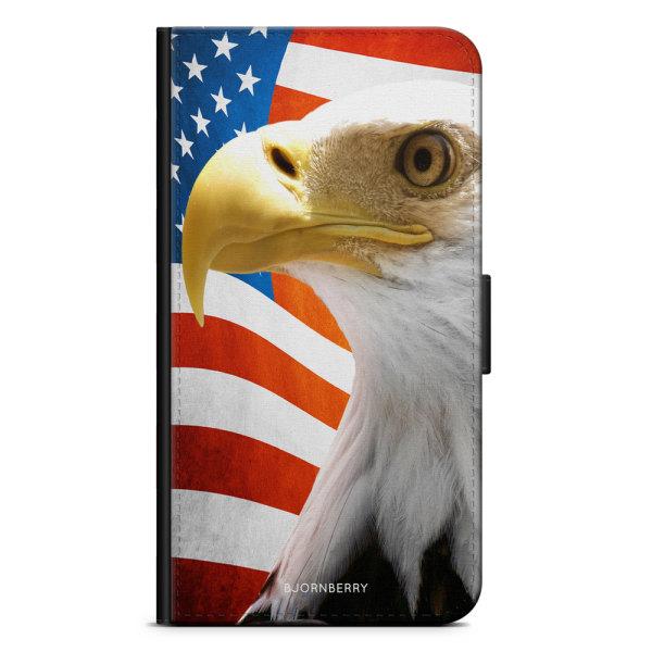 Bjornberry Plånboksfodral iPhone XR - USA Örn