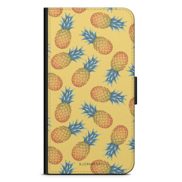 Bjornberry Plånboksfodral iPhone XS MAX - Ananas