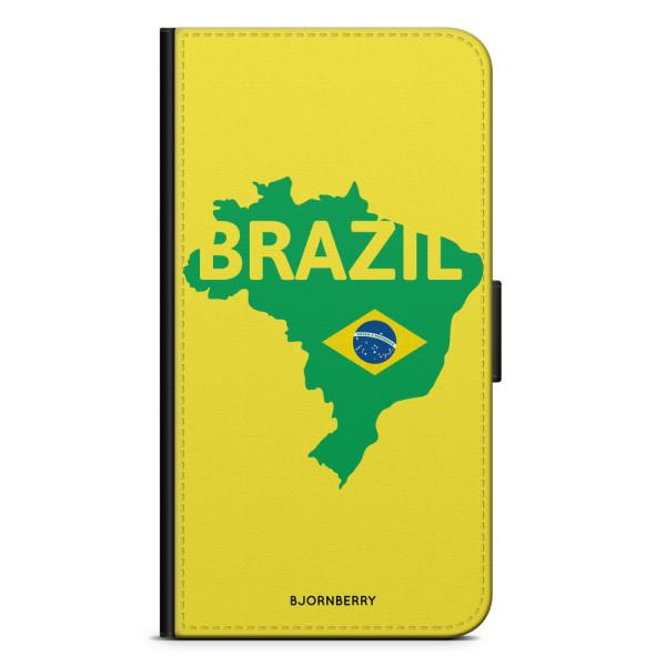 Bjornberry Plånboksfodral iPhone XS MAX - Brazil