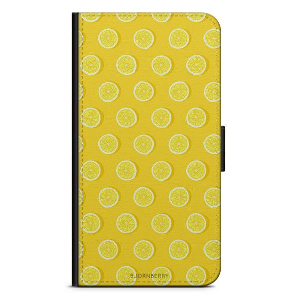Bjornberry Plånboksfodral iPhone XS MAX - Citroner