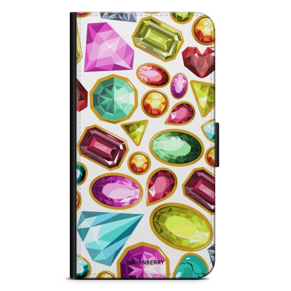 Bjornberry Plånboksfodral iPhone XS MAX - Diamanter