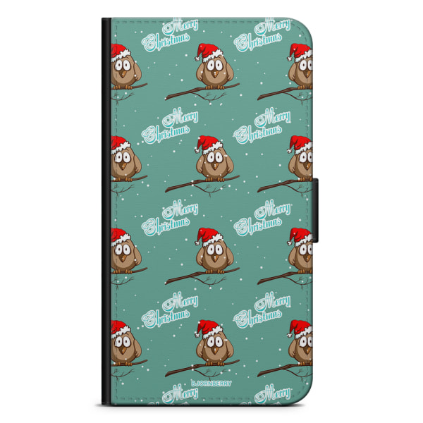 Bjornberry Plånboksfodral iPhone XS MAX - Julsparv