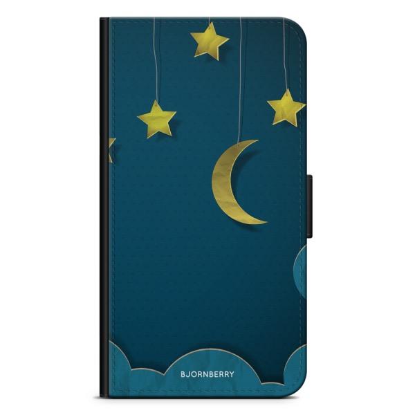 Bjornberry Plånboksfodral iPhone XS MAX - Månstjärnor