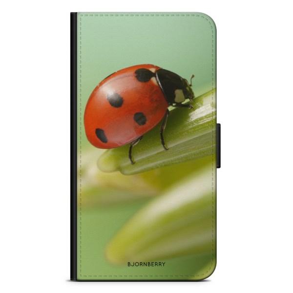 Bjornberry Plånboksfodral iPhone XS MAX - Nyckelpiga