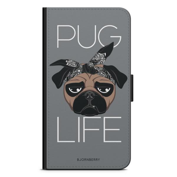 Bjornberry Plånboksfodral iPhone XS MAX - Pug Life