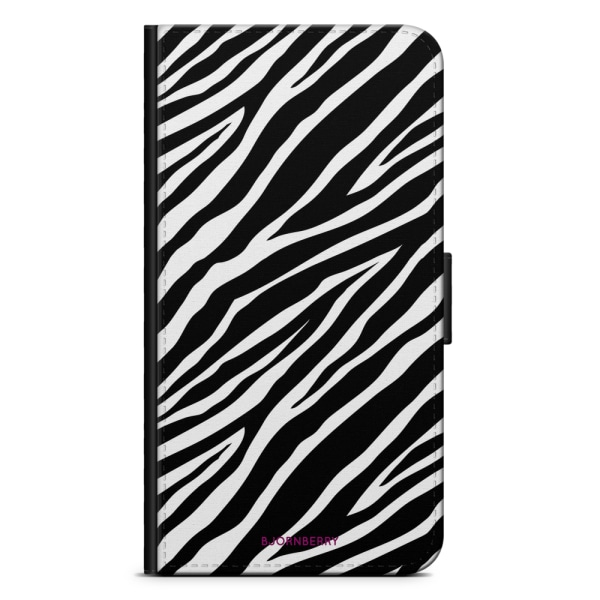 Bjornberry Plånboksfodral iPhone XS MAX - Zebra