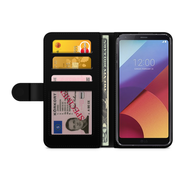 Bjornberry Plånboksfodral LG G6 - Granatäpple