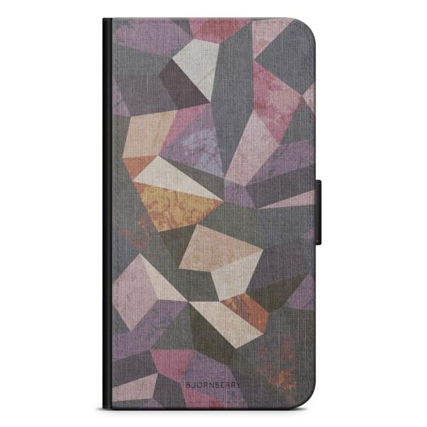 Bjornberry Plånboksfodral LG G7 ThinQ - Geometrisk Modern