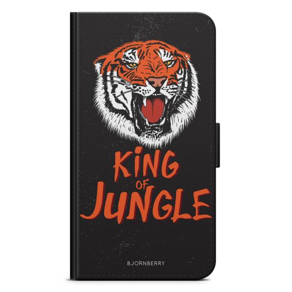 Bjornberry Plånboksfodral LG G7 ThinQ - King of Jungle