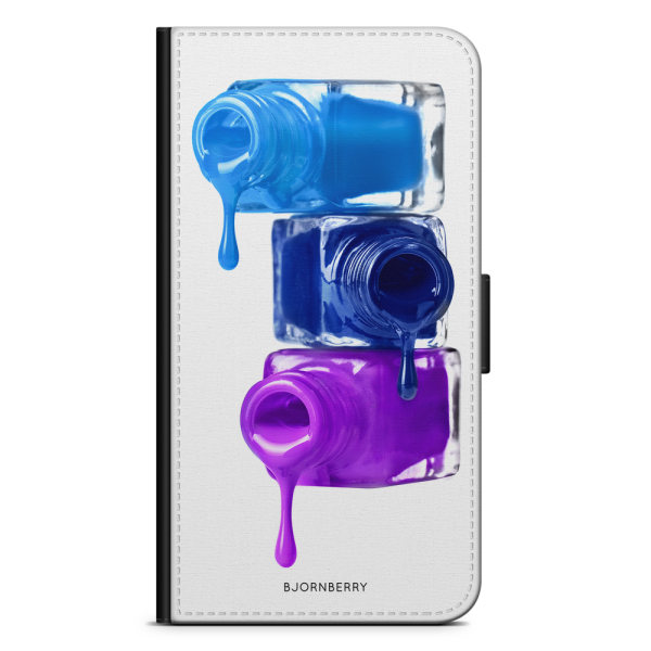 Bjornberry Plånboksfodral LG G7 ThinQ - Nagellack