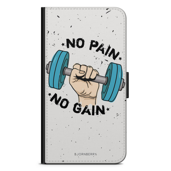 Bjornberry Plånboksfodral LG G7 ThinQ - No Pain No Gain