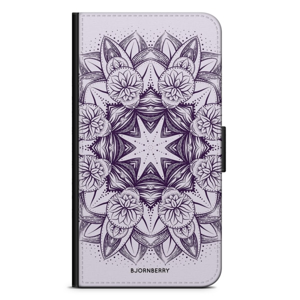 Bjornberry Plånboksfodral LG V30 - Lila Mandala