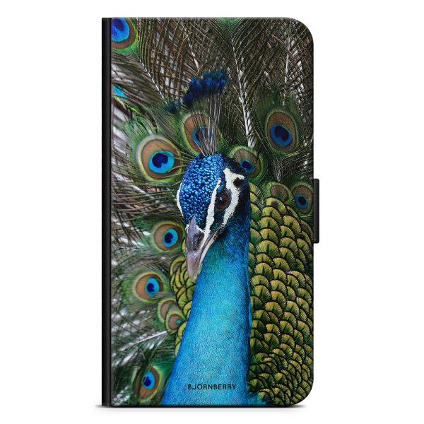 Bjornberry Plånboksfodral LG V30 - Påfågel