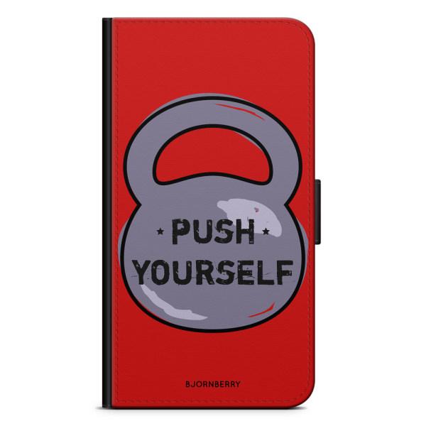 Bjornberry Plånboksfodral LG V30 - Push Yourself