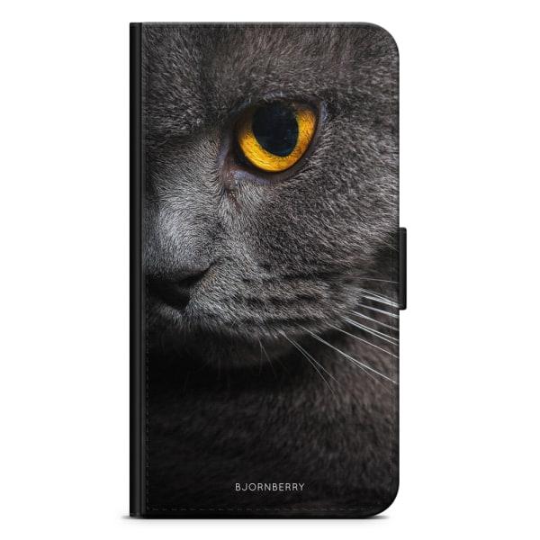 Bjornberry Plånboksfodral Moto G5 - Katt Öga