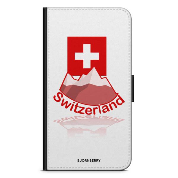 Bjornberry Plånboksfodral Moto G5 Plus - Switzerland