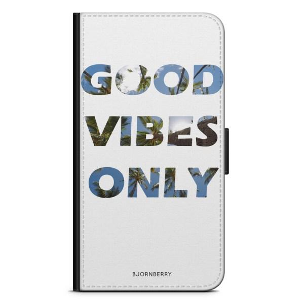 Bjornberry Plånboksfodral Nokia 6.1 - Good Vibes Only