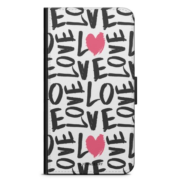 Bjornberry Plånboksfodral Nokia 6.1 - Love Love Love