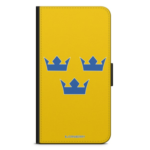 Bjornberry Plånboksfodral Nokia 6.1 - Tre Kronor