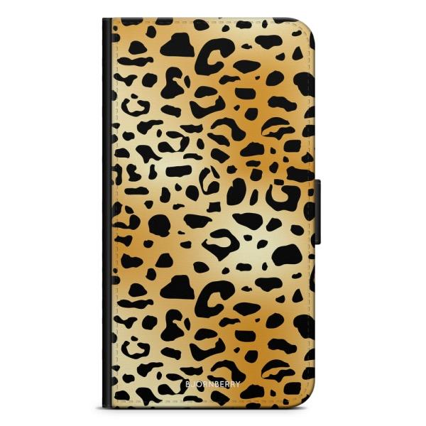 Bjornberry Plånboksfodral Nokia 7 Plus - Leopard