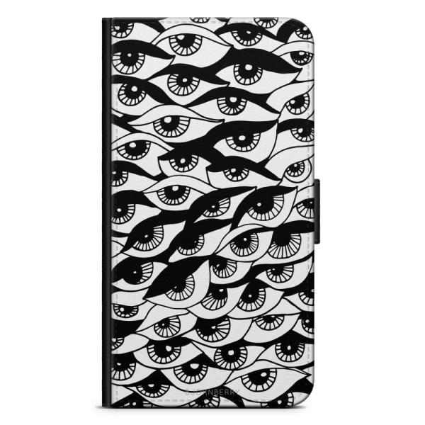 Bjornberry Plånboksfodral Nokia 7 Plus - Ögon