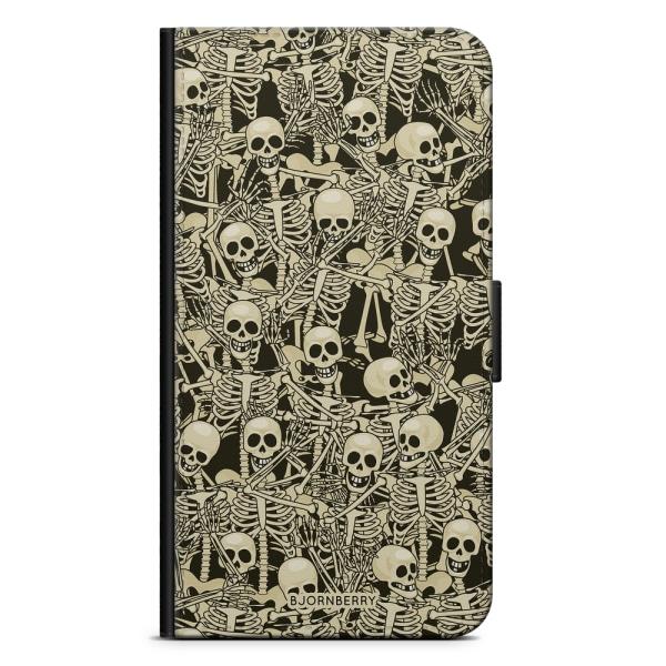 Bjornberry Plånboksfodral Nokia 7 Plus - Skelett