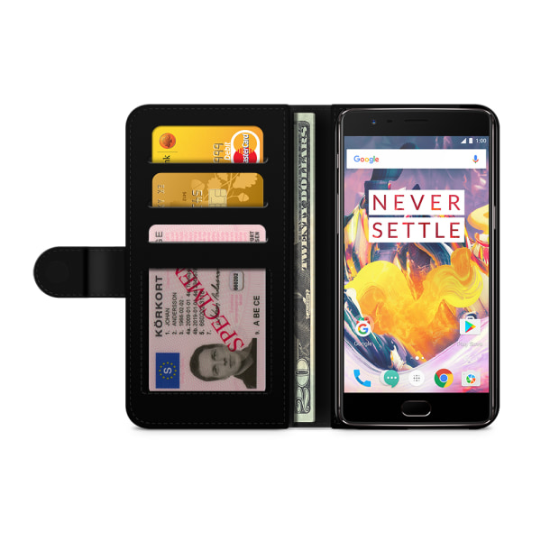 Bjornberry Plånboksfodral OnePlus 3 / 3T - Ananas